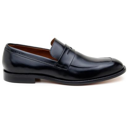 Sapato Social Masculino Mocassim CNS Houston 08 Pr... - CNS