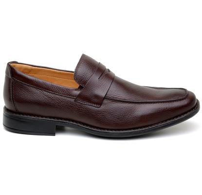 Sapato Casual Masculino Mocassim CNS 14022 Café - CNS