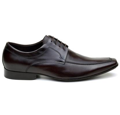 Sapato Social Masculino Derby CNS Cliver 01 Café - CNS