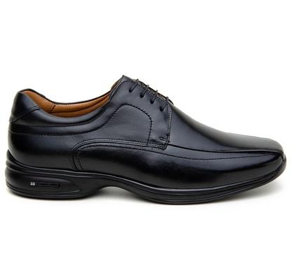 Sapato Social Masculino Derby CNS 71461 Preto - CNS