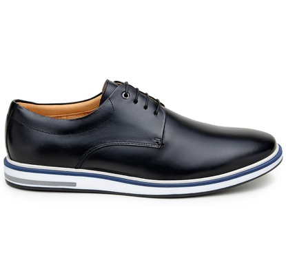 Sapato Casual Masculino Derby CNS 176044 Preto - CNS