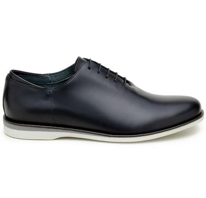Sapato Casual Masculino Wholecut CNS 163090 Preto - CNS
