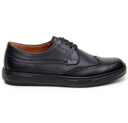 Sapato Casual Masculino Derby CNS Brogue 393006 Pr... - CNS