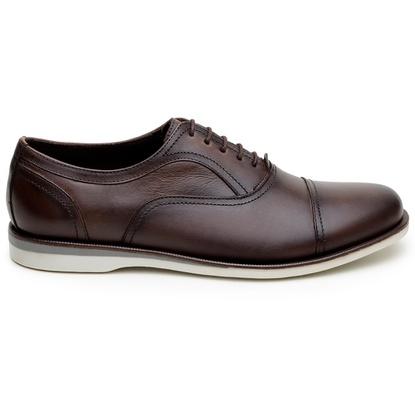 Sapato Casual Masculino Oxford CNS 163095 Moca - CNS