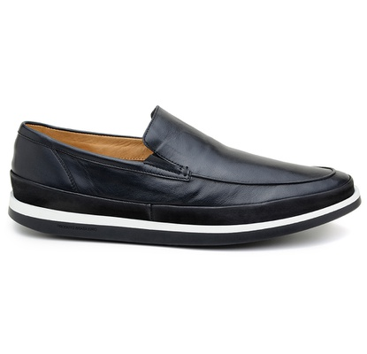 Sapato Casual Masculino Mocassim CNS Padua 28 Pret - CNS