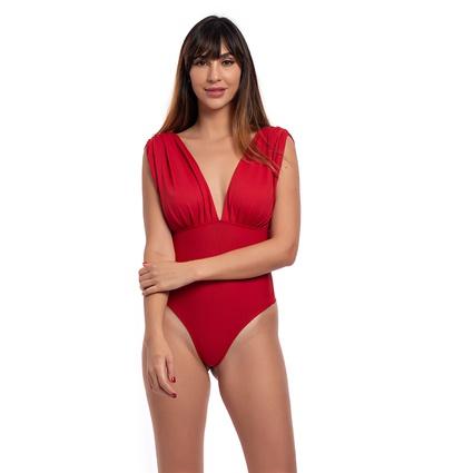 Body/maiô vermelho Tango - TRITUÊ