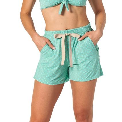 Short jogger concha verde menta - TRITUÊ