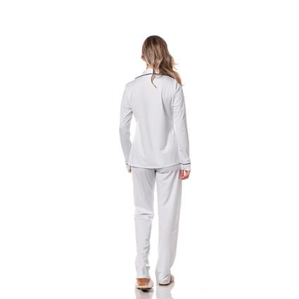 Pijama Homewear Calça e Camisa Branco - TRITUÊ