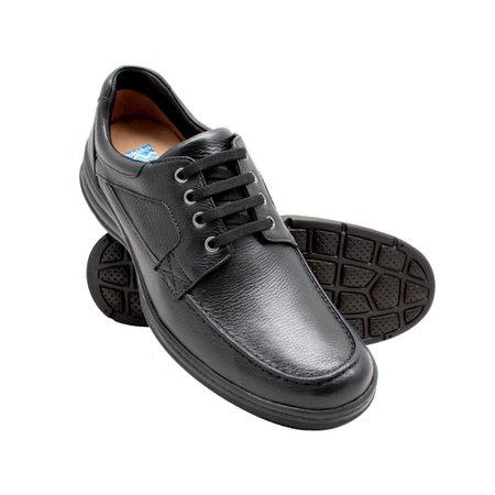 71995fee753 Sapato Masculino Confortável - Preto