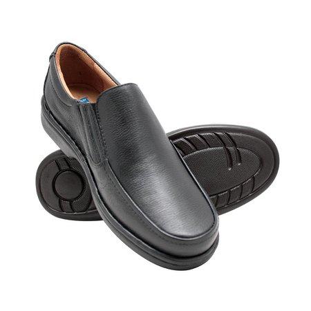 a9cf5ae350 Sapato Masculino Confortável - Preto | Pé Relax Sapatos Confortáveis