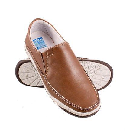 6f6964393 Mocassim Masculino Confort - Pinhão   Pé Relax Sapatos Confortáveis