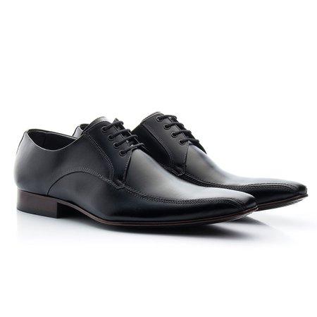 22b7a48be Sapato Masculino Social Preto | Pé Relax Sapatos Confortáveis