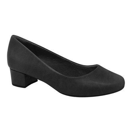Sapato Social Feminino Confortável - Preto