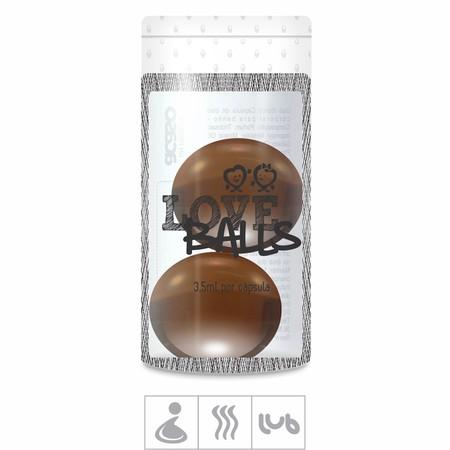Bolinha Aromatizada Love Balls 2un ( ST103 ) - Chocolate