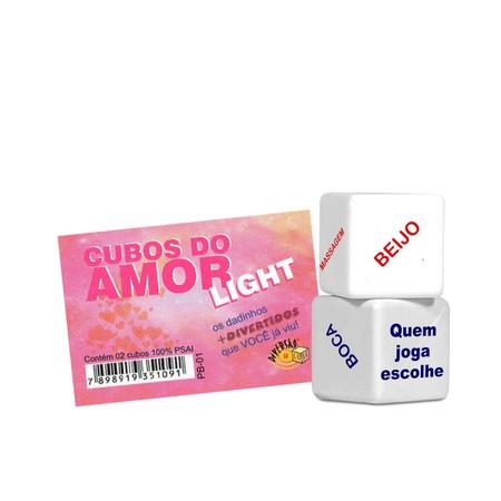 Dado Duplo Div(DC-ST267) - Cubos do Amor Light