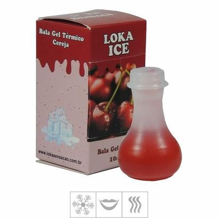 *Bala Gel Loka Ice 10ml (ST485) - Cereja