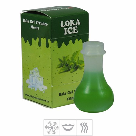 *Bala Gel Loka Ice 10ml (ST485) - Menta
