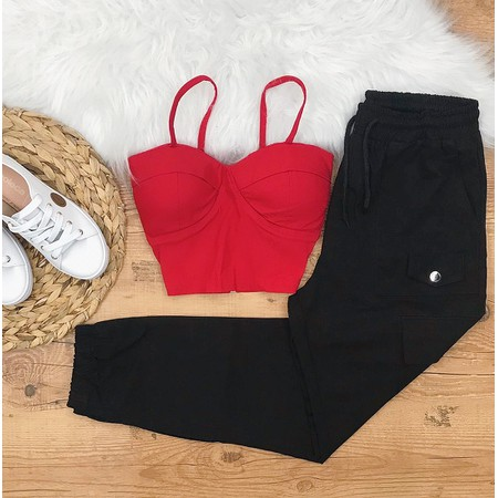 Cropped Rosa Pink