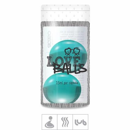 Bolinha Aromatizada Love Balls 2un ( ST103 ) - Le Male