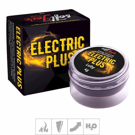 Excitante Unissex Electric Plus Luby 4g (16161) - Padrão