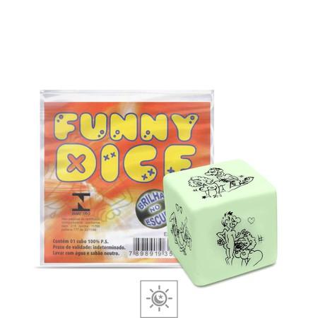 Dado Unitário Brilha No Escuro Div. Cubo - (ST264) - Funny Dice