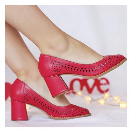 Sapato Boneca Cor Maçã- 177-16 - Universo Bubblē
