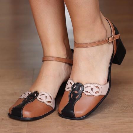 Sapato Retro Feminino- 913-16 - Universo Bubblē