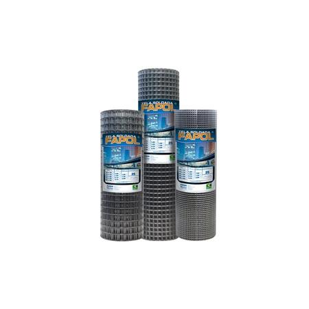 Tela Soldada Fapol 35X35MMX2,75X1,00X25MTS - Morla - AGROCAC