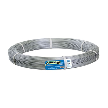 Arame electro 15 1000m 446 - Morlan - AGROCAC