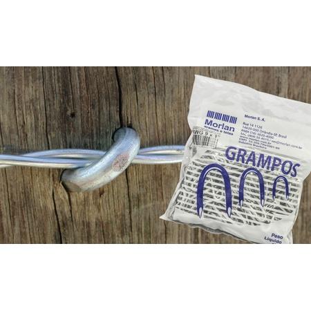 Grampo polido aroeira 09X01 - Morlan - AGROCAC