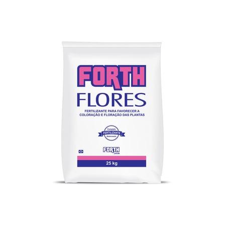 Fertilizante Forth Flores 25kg - AGROCAC