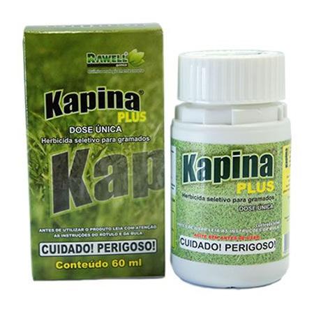 Herbicida Seletivo Kapina Plus 60ml - Rawell - AGROCAC
