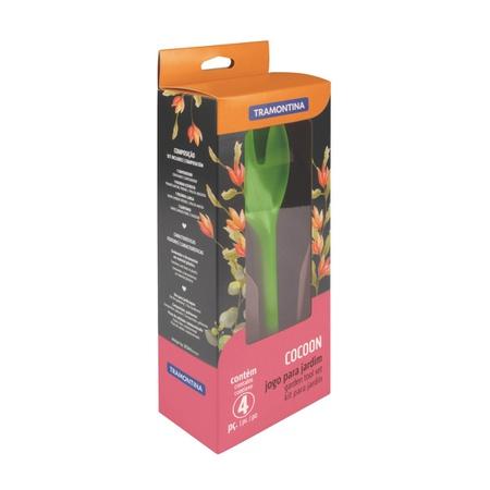 Jogo para Jardinagem Cocoon com Peças Plásticas Ve... - AGROCAC
