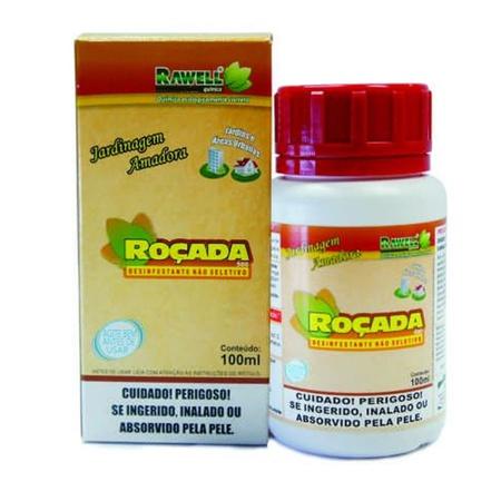 Herbicida não seletivo Roçada 100 ml - Rawell - AGROCAC