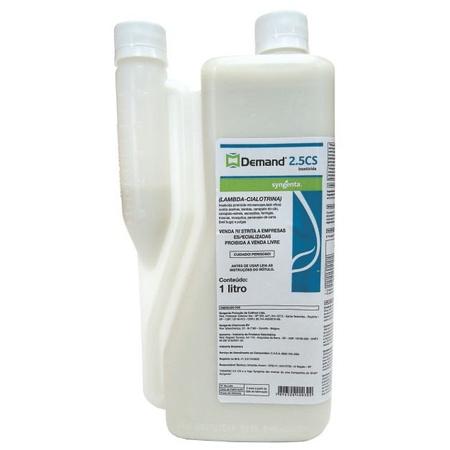 Inseticida Demand 2,5 CS 1 litro - Syngenta - AGROCAC