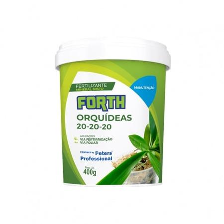 Fertilizante Forth Orquídeas Manutenção 400g - AGROCAC