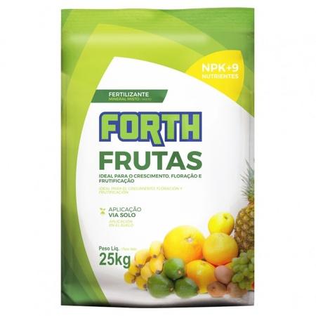 Fertilizante para Frutas Forth 25kg - AGROCAC