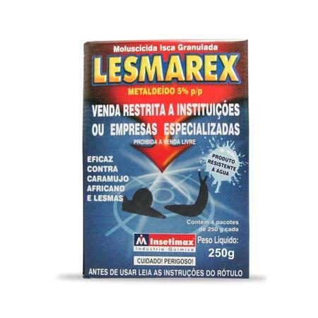 Lesmicida Lesmarex 250g - Insetimax - AGROCAC