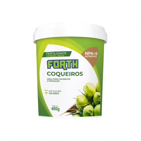 Fertilizante Forth Coqueiros 400g - AGROCAC