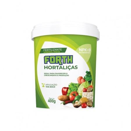 Fertilizante Forth Hortaliças 400g - AGROCAC