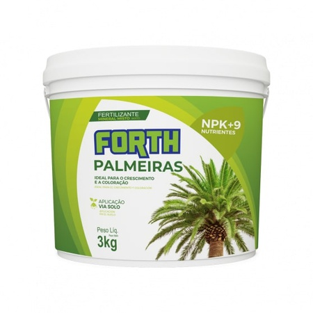 Fertilizante Forth Palmeiras 3kg - AGROCAC