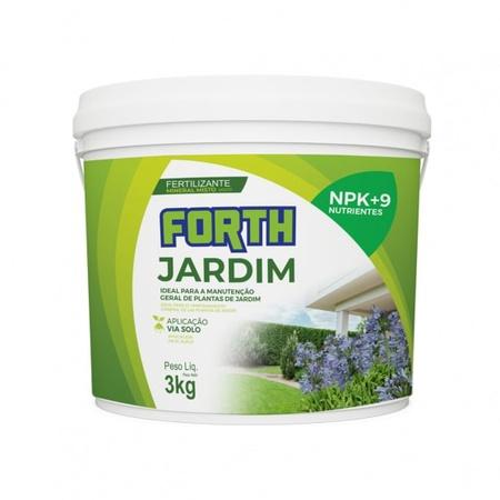 Fertilizante Forth Jardim 3kg - AGROCAC