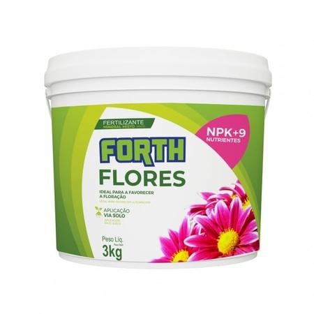 Fertilizante Forth Flores 3kg - AGROCAC