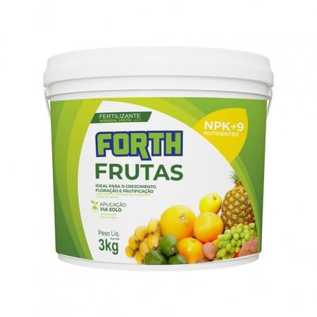 Fertilizante Forth Frutas 3kg - AGROCAC