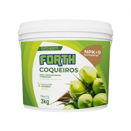 Fertilizante Forth Coqueiros 3kg - AGROCAC