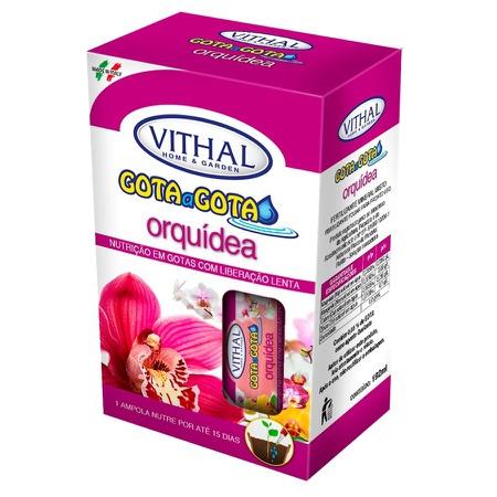 Fertilizante Gota a Gota para orquídeas (6 ampolas... - AGROCAC