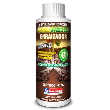 Ourogarden Enraizador 100mL - Insetimax - AGROCAC