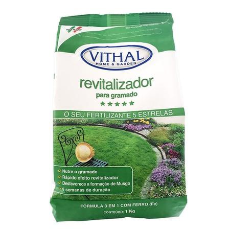 Fertilizante Revitalizador Para Gramado 1kg - Vith... - AGROCAC