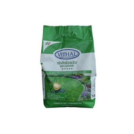 Fertilizante Revitalizador para Gramado 5Kg - Vith... - AGROCAC