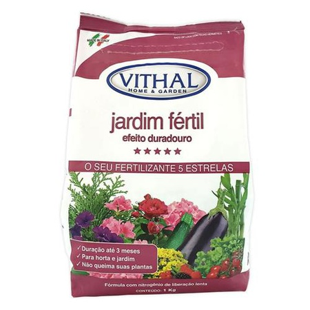 Fertilizante Jardim Fertil Efeito Duradouro 1kg - ... - AGROCAC